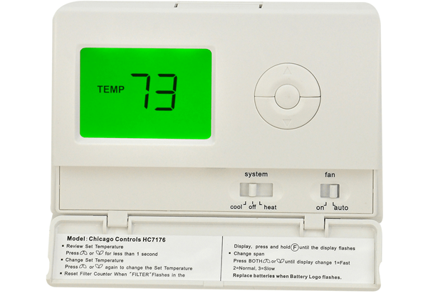 Temperature Controlled Thermostat for Landlords