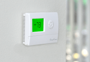Rental property thermostat