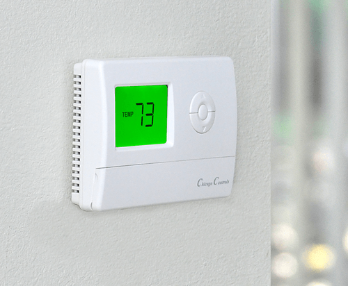 Temperature limiting thermostat