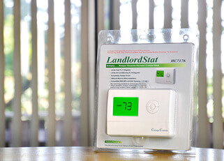 Landlord Controlled Thermostat